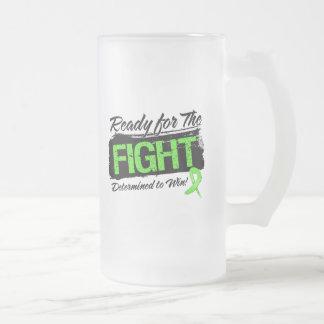 Aliste para el linfoma de Non-Hodgkins de la lucha Taza Cristal Mate