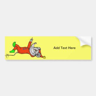Aliste para el ratón de la cama etiqueta de parachoque