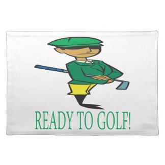 Aliste para golf mantel individual