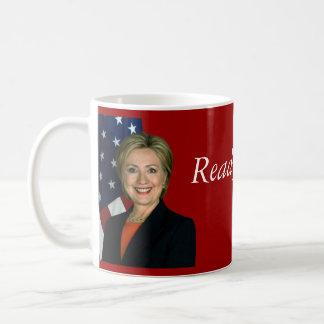 Aliste para Hillary 2016 Taza Básica Blanca