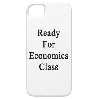 Aliste para la clase de la economía iPhone 5 fundas