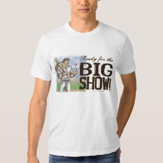 ¡Aliste para la demostración grande! Camiseta del Playeras