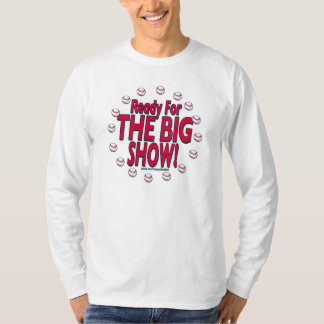 ¡Aliste para la demostración grande! Camiseta Playera