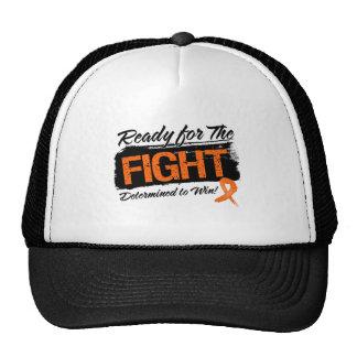 Aliste para la leucemia de la lucha gorra