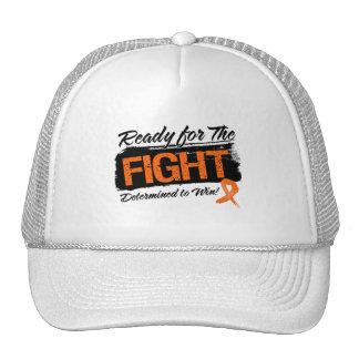 Aliste para la leucemia de la lucha gorras