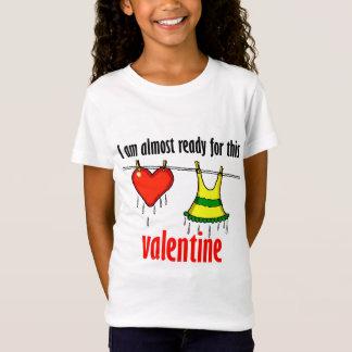 Aliste para la tarjeta del día de San Valentín Playera