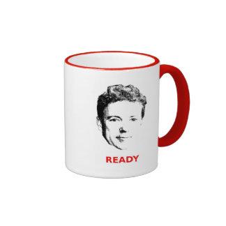 Aliste para la taza de café del rand
