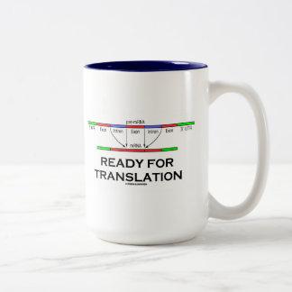 Aliste para la traducción (el pre-mRNA en el mRNA) Tazas De Café