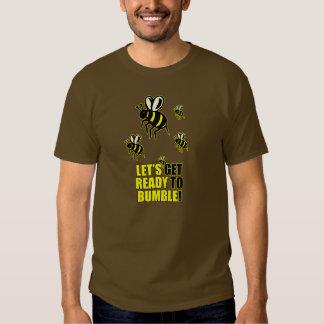 Aliste para manosear camisas