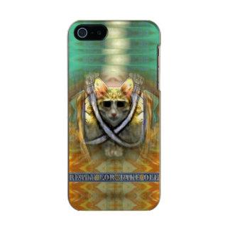 Aliste para sacan la caja fresca del iPhone 5/5s Carcasa De Iphone 5 Incipio Feather Shine