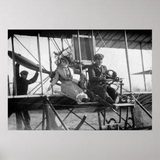 Aliste para Takeoff, 1912 Poster
