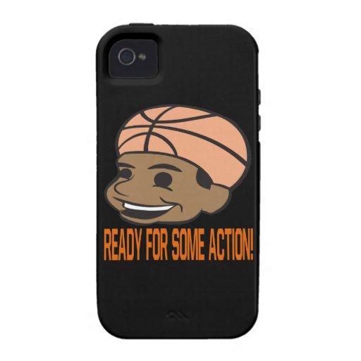 Aliste para una cierta acción iPhone 4/4S funda