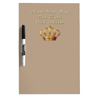 Alittle Crown Dry-Erase Board