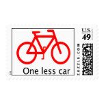 Alittle less pollution ..A little more health Postage Stamp