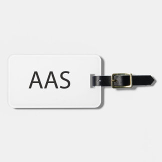 Alive and smiling.ai travel bag tag