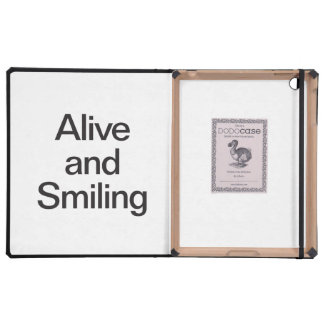 alive and smiling case for iPad