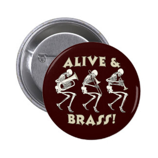Alive & Brass! Buttons