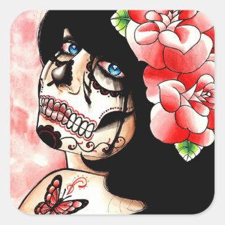 Alive by Carissa Rose Square Sticker