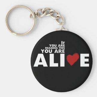 ALIVE Campaign Keychain
