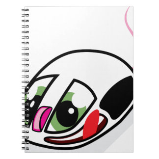 Alive computer mouse spiral notebook