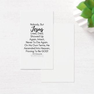 Alive Forever Christian Cards