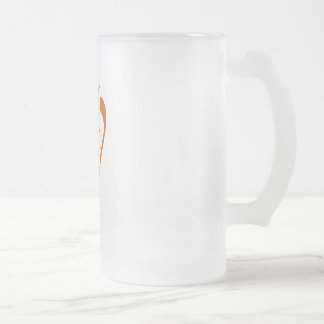 Alive jar of Software Libre Frosted Glass Beer Mug