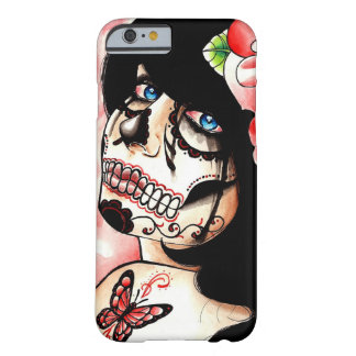 Alive Sugar Skull Girl Barely There iPhone 6 Case