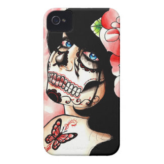 Alive Sugar Skull Girl Case-Mate iPhone 4 Case