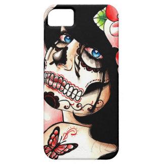 Alive Sugar Skull Girl iPhone SE/5/5s Case