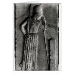 Alivio de Athena de luto, c.460 Felicitacion