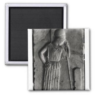 Alivio de Athena de luto, c.460 Imán Cuadrado