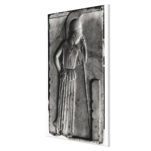 Alivio de Athena de luto, c.460 Impresion De Lienzo