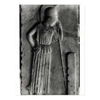 Alivio de Athena de luto, c.460 Postales