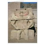 Alivio de dios egipcio del hogar, Bes Felicitacion