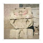 Alivio de dios egipcio del hogar, Bes Impresiones En Lona Estiradas