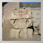 Alivio de dios egipcio del hogar, Bes Póster