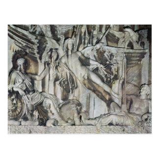 Alivio de la apoteosis del emperador Antoninus Postal