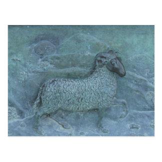 Alivio de las ovejas postal