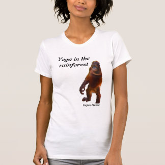 Alivio de tensión de Mudra de la yoga Camisetas