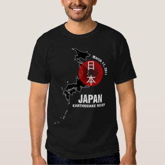 Alivio del terremoto de Japón Playeras
