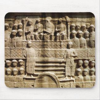 Alivio en la base del obelisco de Theodosius Mouse Pads