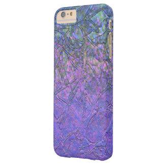 alivio floral del caso del iPhone 6 del Grunge más Funda De iPhone 6 Plus Barely There