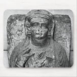 Alivio funerario de una figura femenina, de alfombrilla de ratón