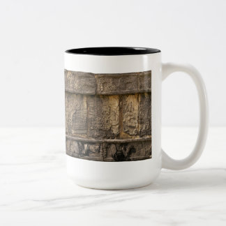 Alivio maya taza dos tonos