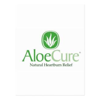 Alivio natural del ardor de estómago de AloeCure® Tarjeta Postal