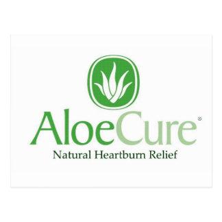 Alivio natural del ardor de estómago de AloeCure® Tarjetas Postales