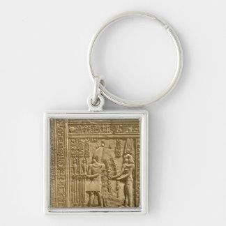 Alivio que representa a Ptolomeo VIII Euergetes II Llaveros