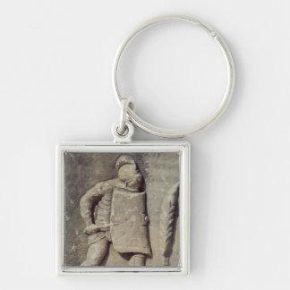 Alivio que representa a un soldado romano llavero