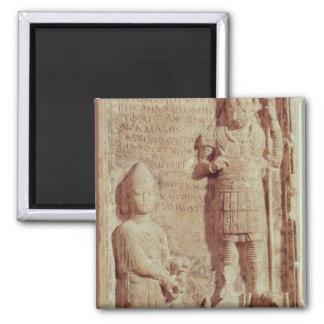 Alivio que representa Aphlad, dios del pueblo de Imán Cuadrado
