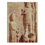 Alivio que representa Aphlad, dios del pueblo de Postales